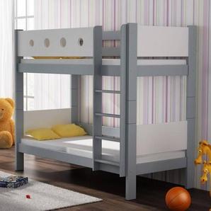 Lit superposé Petite Canaille enfant personnalisable - Bleu,Rose,Vert,Blanc,Gris - 80 cm x 160 cm,80 cm x 180 cm