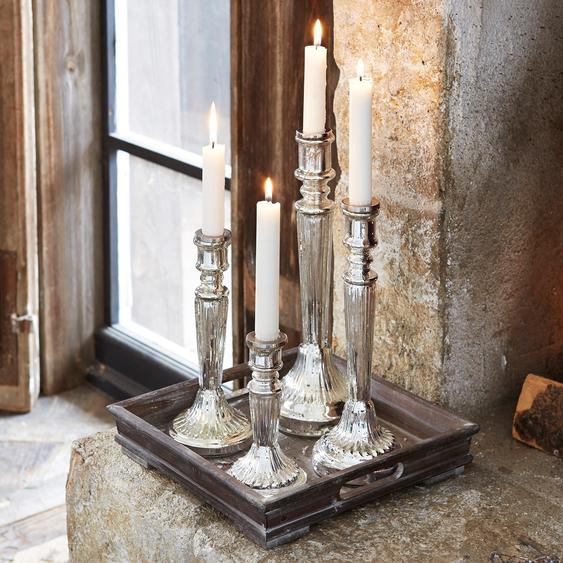 Lot de 4 bougeoirs Selby