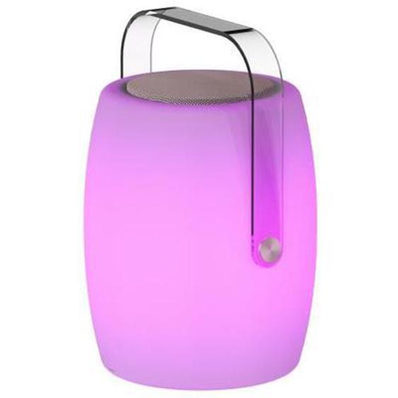 LUMISKY Lampe musicale dextérieur avec haut parleur - 21 x 21 x 31 cm