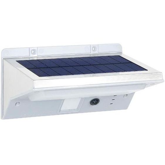 LUMISKY Spot solaire mural extérieur étanche avec détecteur - 21 LEDs - 330 Lm - Pivotante à 120°C