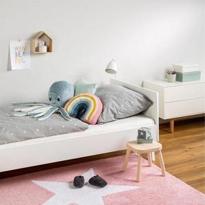 Tapis lavables pour enfants Bambini Star Rose 120x160 cm - Tapis lavable pour chambre denfants/bébé