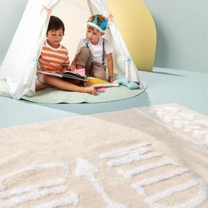 Lytte Tapis lavables pour enfants Inka Wild Child Rose 120x180 cm - Tapis pour chambre denfants/bébé