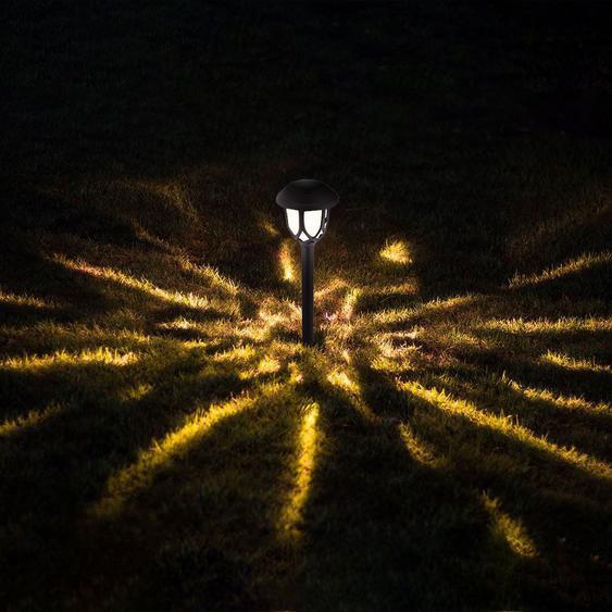 Le Paysage Déclairage De Chemin De Led Solaire Allume La Lumière De Décoration De Jardin De Lumière De Pelouse - Madkanao 1845