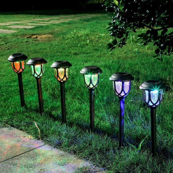 Le Paysage Déclairage De Chemin De Led Solaire Allume La Lumière De Décoration De Jardin De Lumière De Pelouse - Madkanao 1846