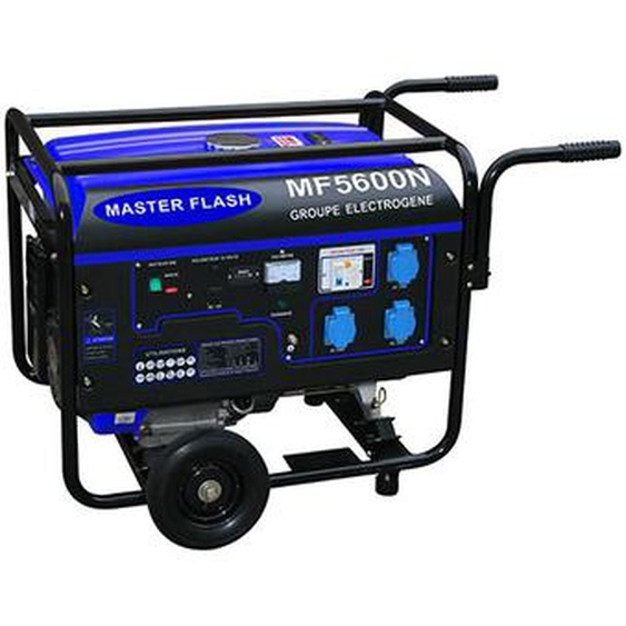 Groupe Electrogène 5500 W Essence 4 temps Master Flash