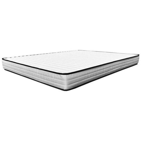 Matelas Essenzia TEXAS King Size 180x200 STRETCH Mousse et mousse à mémoire de forme - Blanc