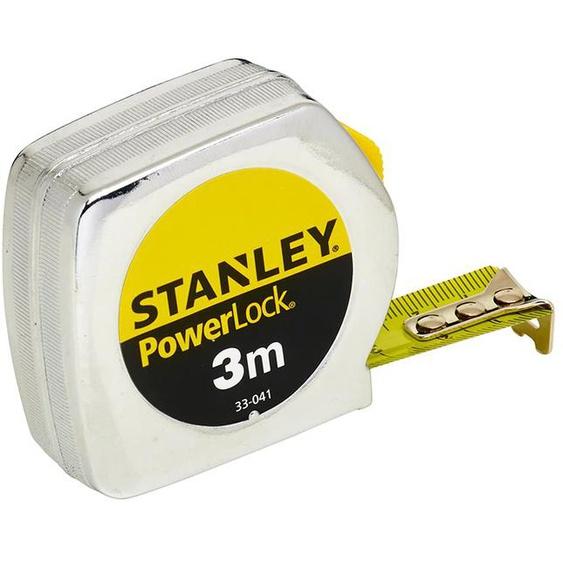 Mètre ruban 3,0 m x 19,0 mm Powerlock Classic Métal - STANLEY - 1-33-041