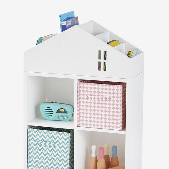 Meuble 4 cases Casas blanc