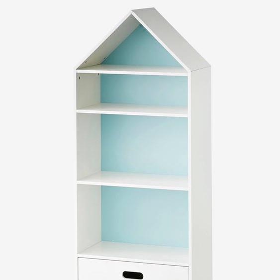 Meuble de rangement maison 5 cases blanc