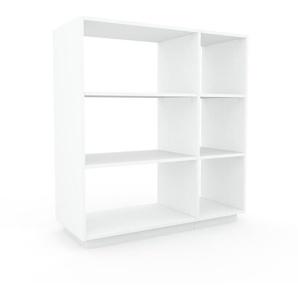 Meuble de rangements - blanc, design minimaliste, pour documents sophistiqué, fontionnel et robuste - 116 x 124 x 47 cm, personnalisable