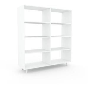 Meuble de rangements - blanc, design minimaliste, pour documents sophistiqué, fontionnel et robuste - 152 x 168 x 47 cm, personnalisable