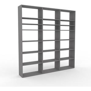 Meuble de rangements - gris, design minimaliste, pour documents sophistiqué, fontionnel et robuste - 226 x 233 x 35 cm, personnalisable