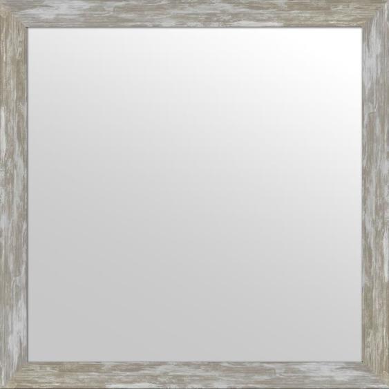 ARTESANIA Miroir 40 x 12 cm - Intérieur 50 x 50 cm - Gris argenté