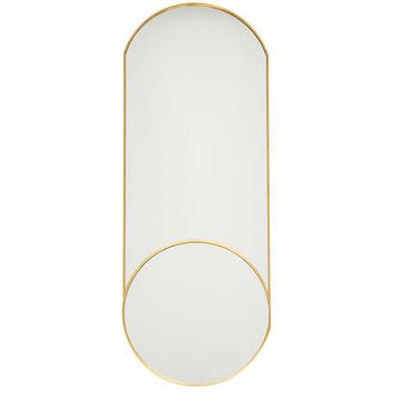 Miroir haut ovale Royale laiton doré Ø60 cm