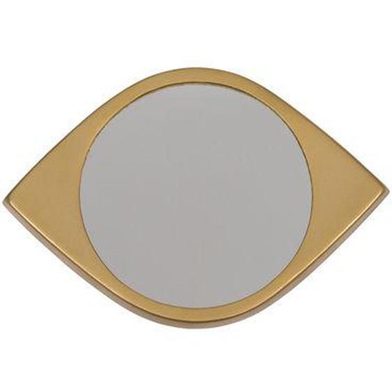 Miroir Lebanon fer doré 13,3 x 20 cm