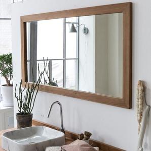 Miroir Milano en bois de Teck 140x70