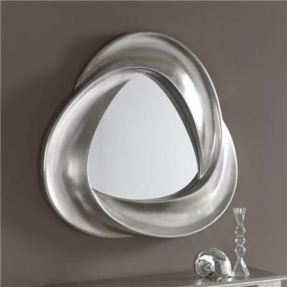 Miroir mural argent laqué design GRIFFIN