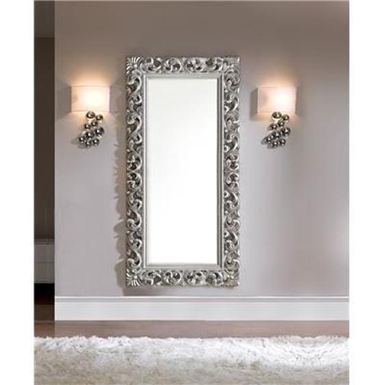 Miroir mural en gris ou doré laqué design DAWN