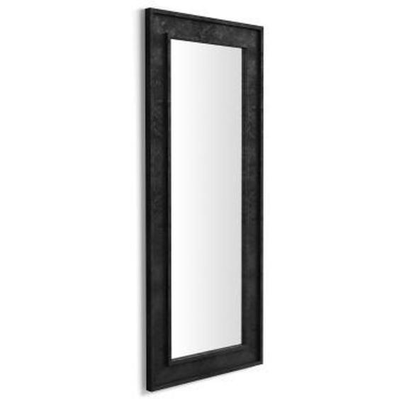Miroir mural/miroir au sol Angelica, 160x67 cm, Noir Béton