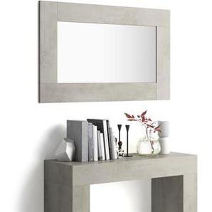 Miroir mural rectangulaire, cadre béton, Evolution
