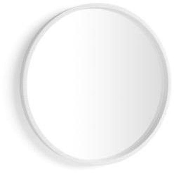 Miroir rond Olivia, diamètre 64, Frêne blanc