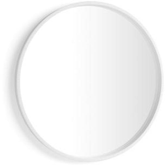 Miroir rond Olivia, diamètre 82, Frêne blanc