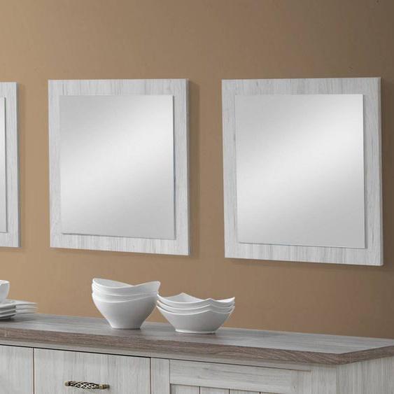 Mobistoxx Lot de 3 miroirs EMORA chêne clair