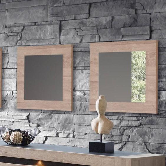 Mobistoxx Lot de 3 miroirs WILSON chêne français