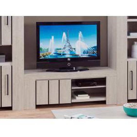 Mobistoxx Meuble tv-hifi GILLY 1 porte chêne blanchi