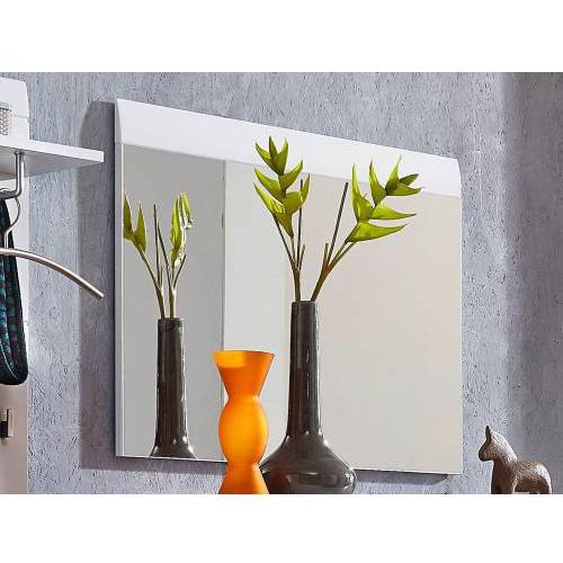 Mobistoxx Miroir PITTA 89 cm blanc brillant