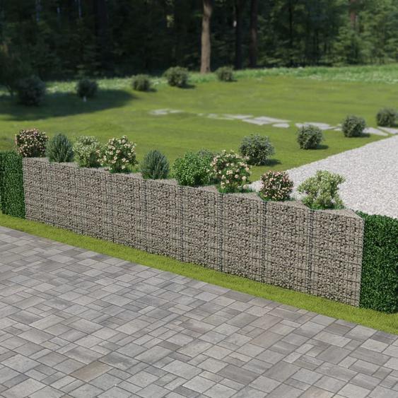 Zqyrlar - Mur de gabion Acier galvanisé 630 x 30 x 100 cm
