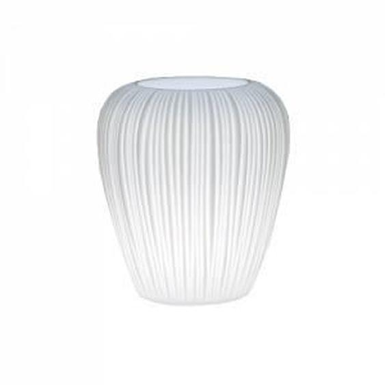 MYYOUR vase avec éclairage SKIN S (Pour extérieur - Poleasy Illuminable)