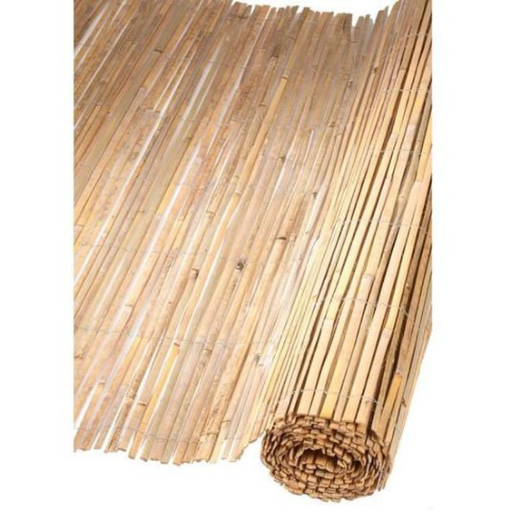 NATURE Canisse naturelle en bambous fendus - 1,5 x 5 m