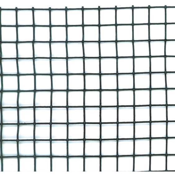 NATURE Grillage pour parterre / balcon - HDPE vert - Maille 10x10 mm - 1x3 m