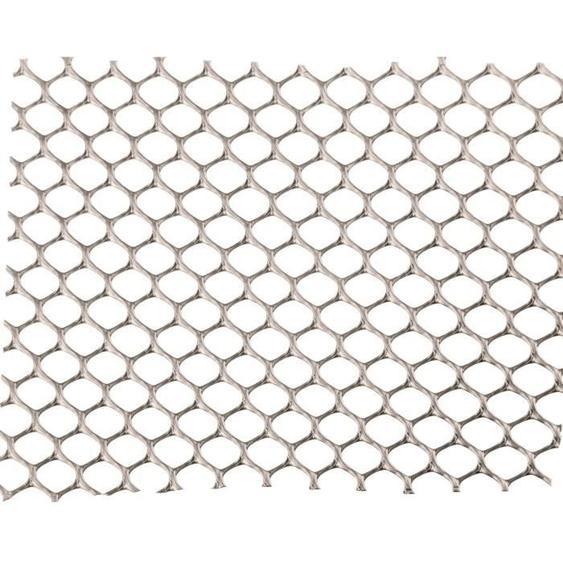 NATURE Grillage pour parterre - HDPE gris - Maille hexagonale 5 mm - 0,5x3 m