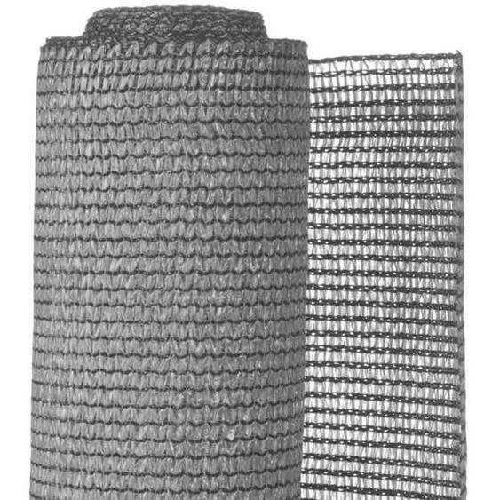 NATURE Natte brise-vue avec set de fixation - En HDPE - Gris clair - Occultation 95%, 190 g/m² - 1,5 x 5 m