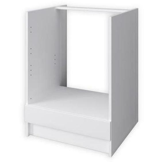 OBI Meuble four L 60 cm - Blanc mat