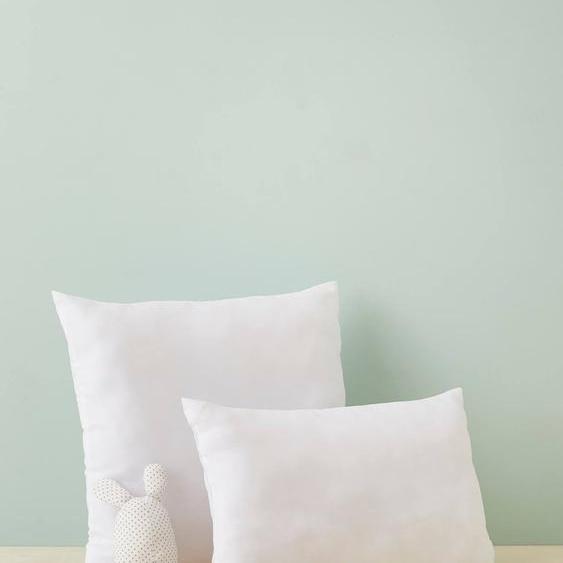 Oreiller confort ferme microfibre entretien facile à bouillir blanc