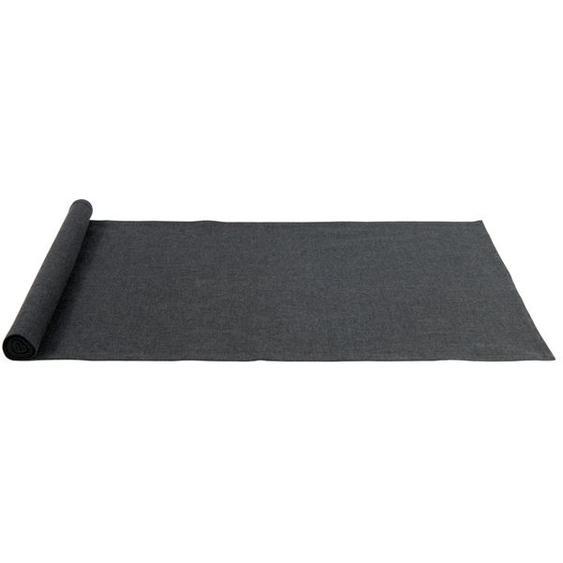 ORGANIC Chemin de table noir Larg. 40 x Long. 140 cm