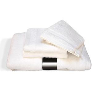 Parure de bain 5 pièces ROYAL CRESENT Blanc 650 g/m2