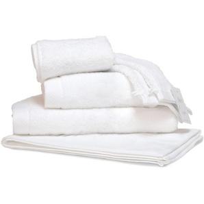 Parure de bain 6 pièces PURE Blanc 550 g/m2