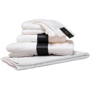 Parure de bain 7 pièces ROYAL CRESENT Blanc 650 g/m2