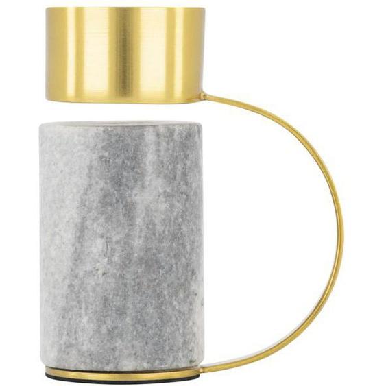 Photophore 10 Cm - Marbre/métal (multi)