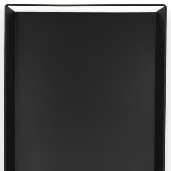 Plateau À Bougies 22 X 45,5 X 3 - Noir (noir)