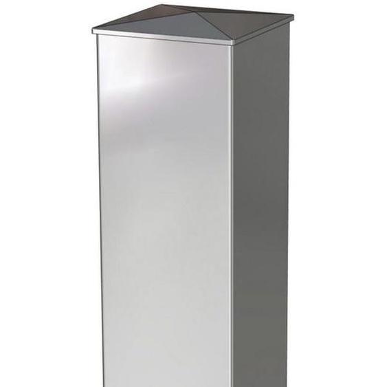 Poteau aluminium noir 15 x 15 205