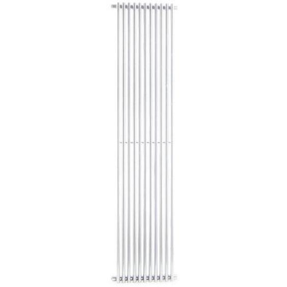 Radiateur décoratif en acier blanc Ercos Orion   H1800 L620 Z1745