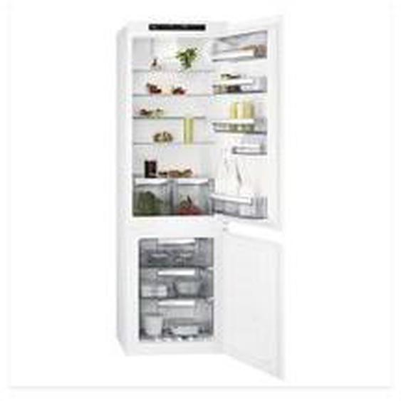 Réfrigérateur 2 portes encastrable AEG SCE818F6TS Blanc Aeg