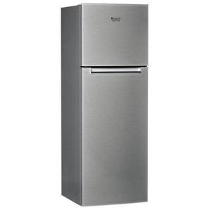 Réfrigérateur Combiné Hotpoint HTM1722V - 300 litres Classe A+ Acier inoxydable