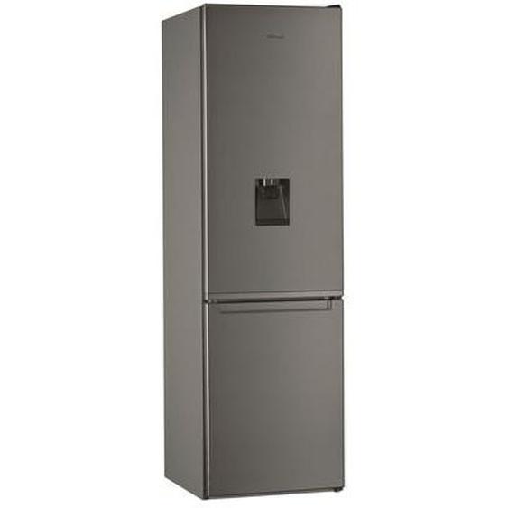 Réfrigérateur combiné WHIRLPOOL W7921IOXAQUA Gris Whirlpool
