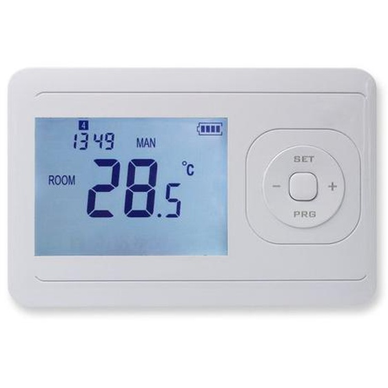 Royal plaza Atlas thermostat sans fil blanc mat